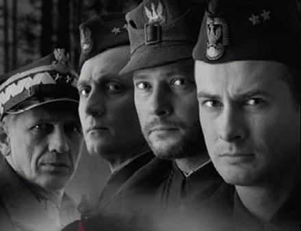 "Plakat filmu ""Katyń"" /materiały dystrybutora"