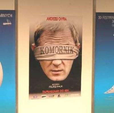 """Plakat filmu """"Komornik"""" Feliksa Falka /INTERIA.PL"""