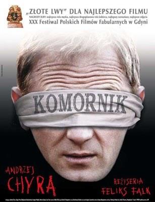 """Plakat filmu """"Komornik"""" /"""
