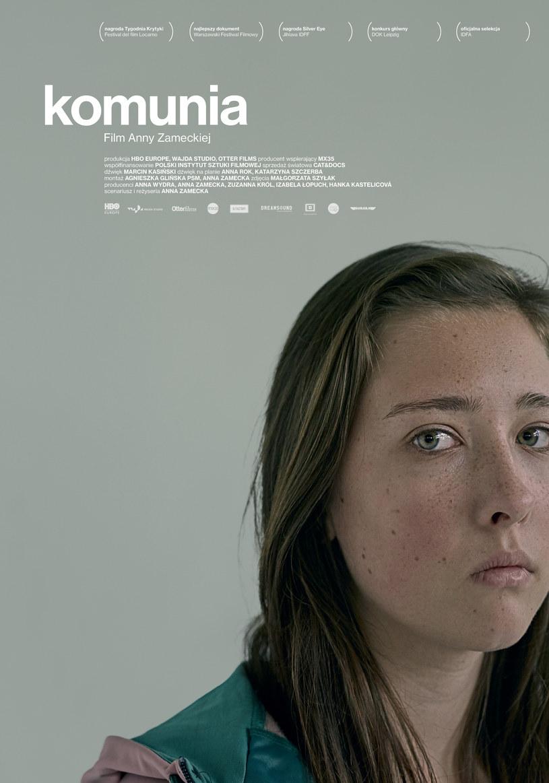 "Plakat filmu ""Komunia"" /materiały dystrybutora"