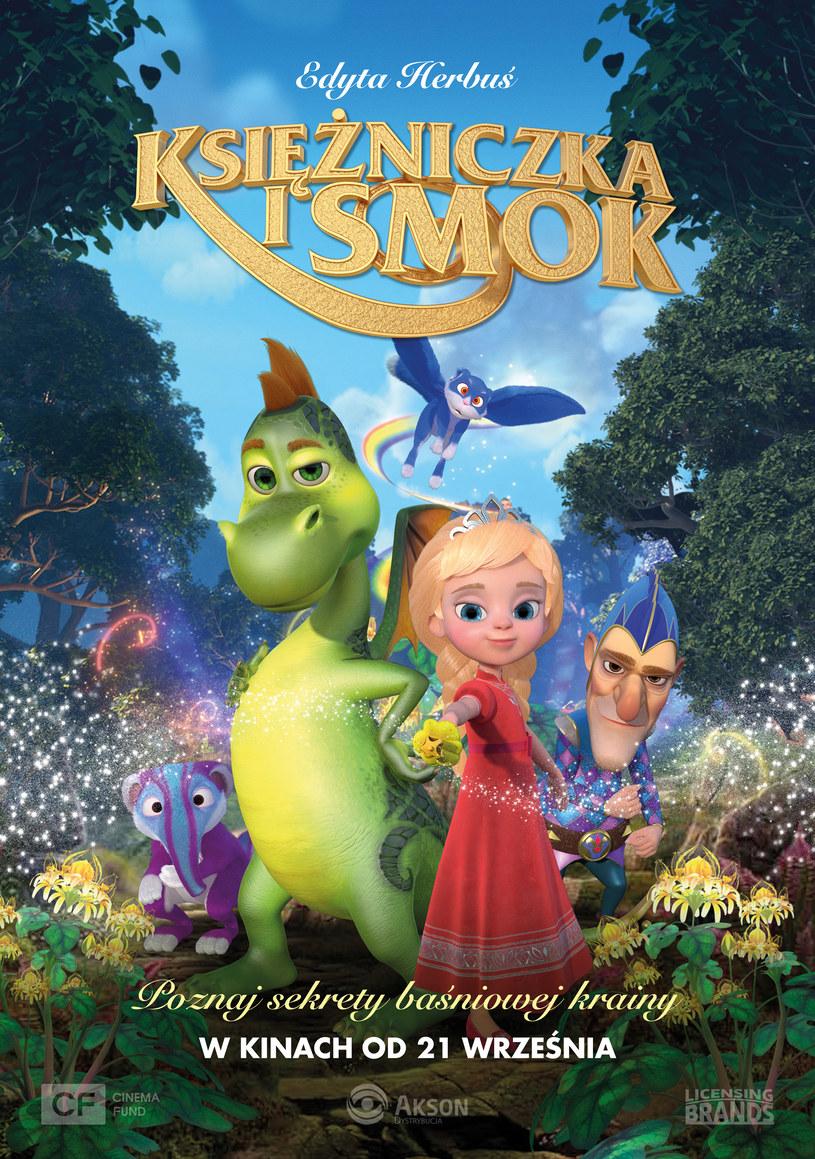"""Plakat filmu """"Księżniczka i smok"""" /materiały prasowe"""