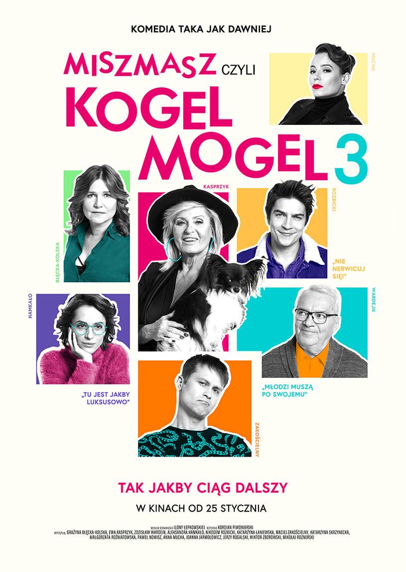 """Plakat filmu """"Miszmasz czyli Kogel Mogel 3"""" /materiały dystrybutora"""