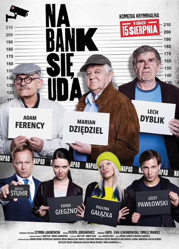 """Plakat filmu """"Na bank się uda"""" /Materiały prasowe"""