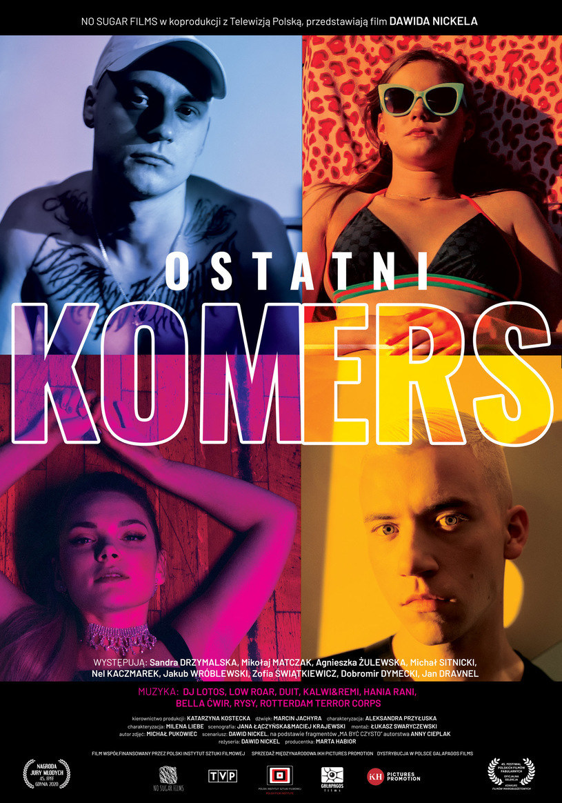 "Plakat filmu ""Ostatni komers"" /materiały prasowe"