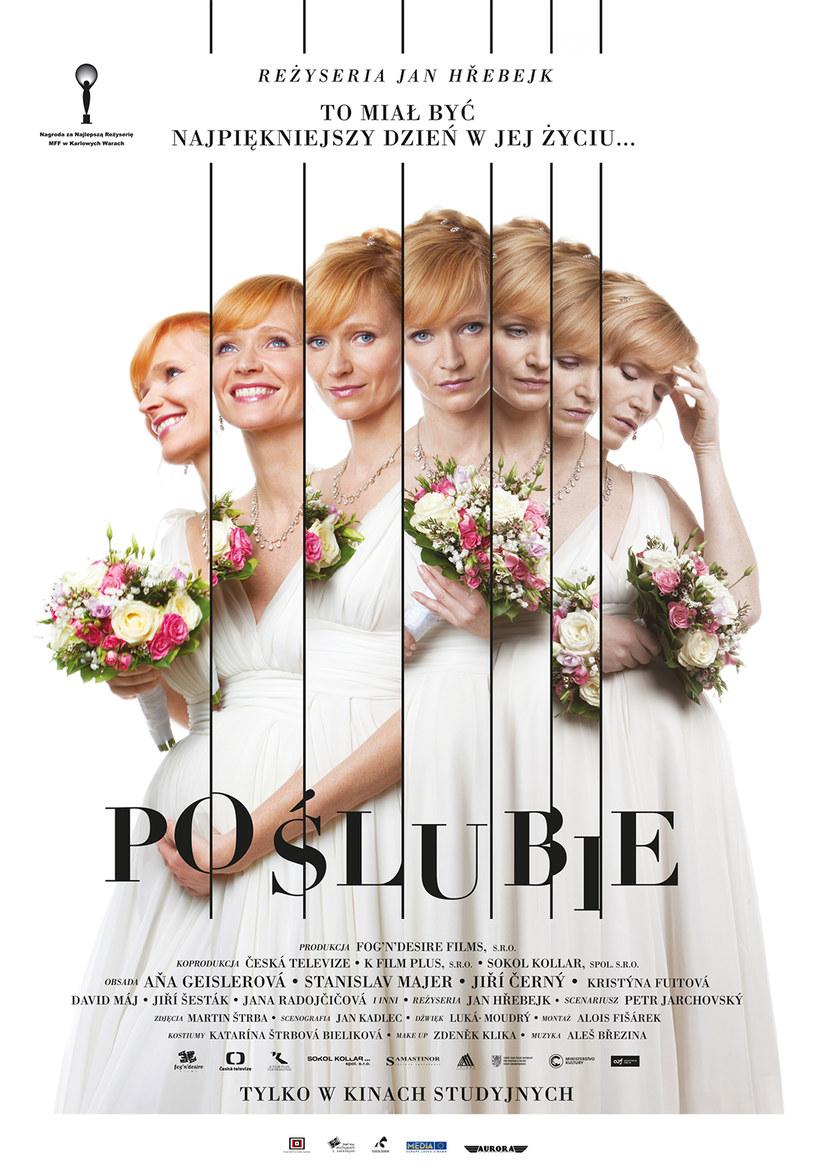 """Plakat filmu """"Po ślubie"""" /materiały prasowe"""