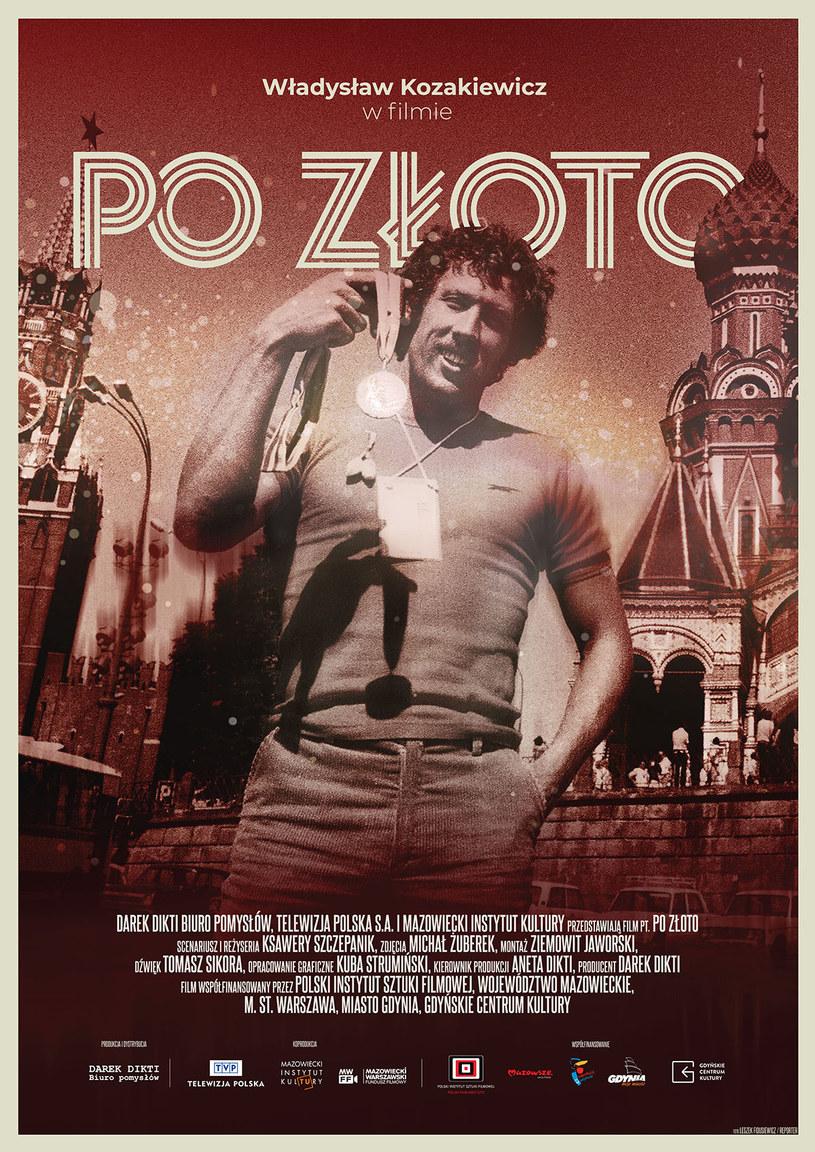 """Plakat filmu """"Po złoto"""" /materiały prasowe"""