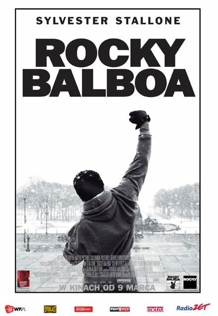 "Plakat filmu ""Rocky Balboa"" /INTERIA.PL"
