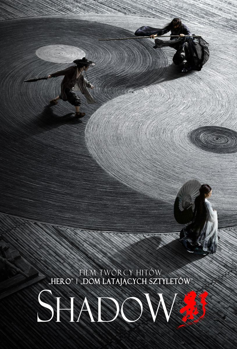 """Plakat filmu """"Shadow"""" /materiały dystrybutora"""