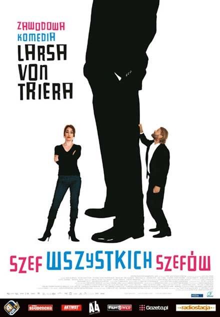 """Plakat filmu """"Szef wszystkich szefów"""" /INTERIA.PL"""