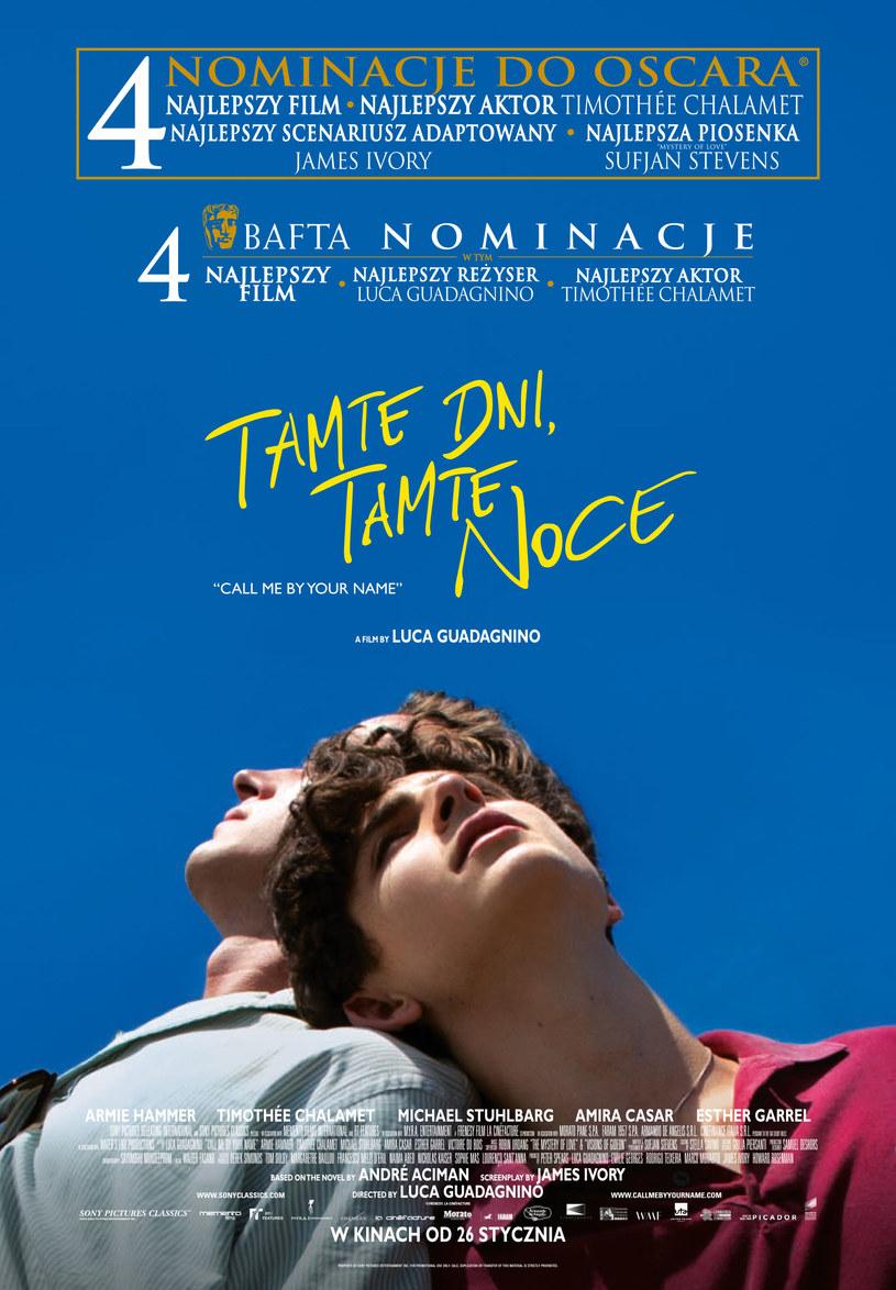 "Plakat filmu ""Tamte dni, tamte noce"" /UIP /materiały dystrybutora"