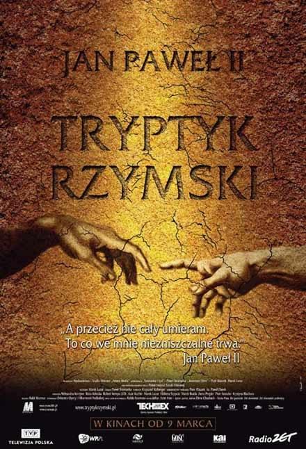 """Plakat filmu """"Tryptyk rzymski"""" /INTERIA.PL"""