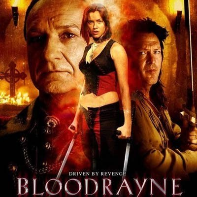 "Plakat filmu Uwe Bolla ""BloodRayne"" /"