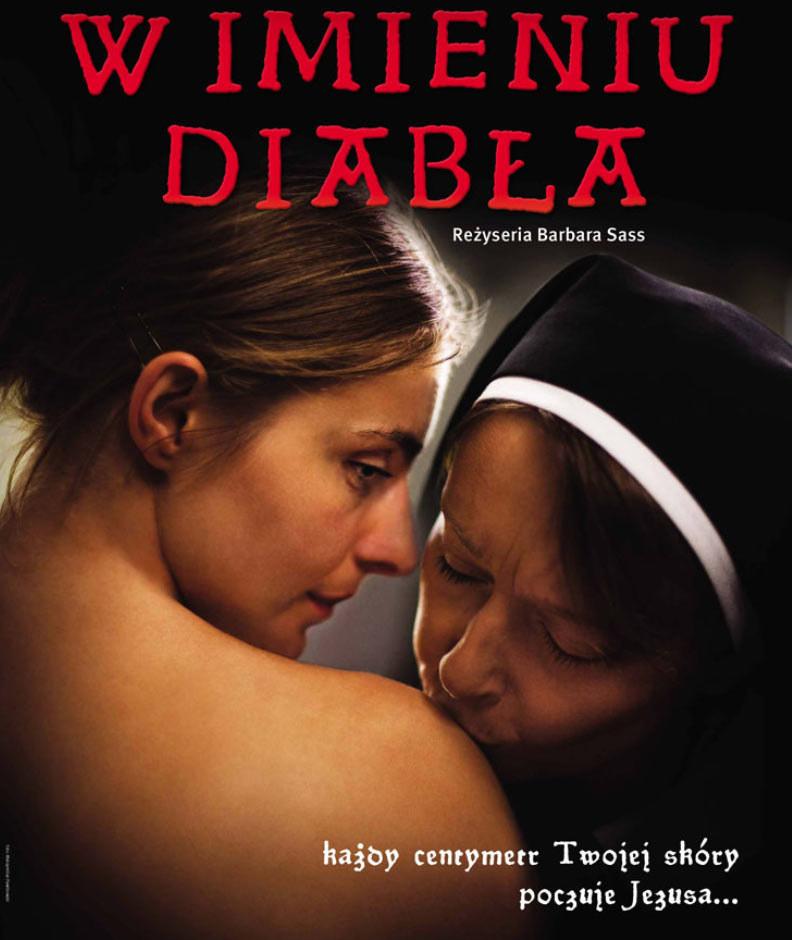 """Plakat filmu """"W imieniu diabła"""" /materiały dystrybutora"""