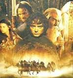 """Plakat filmu """"Władca pierścieni: Drużyna pierścienia"""" /"""