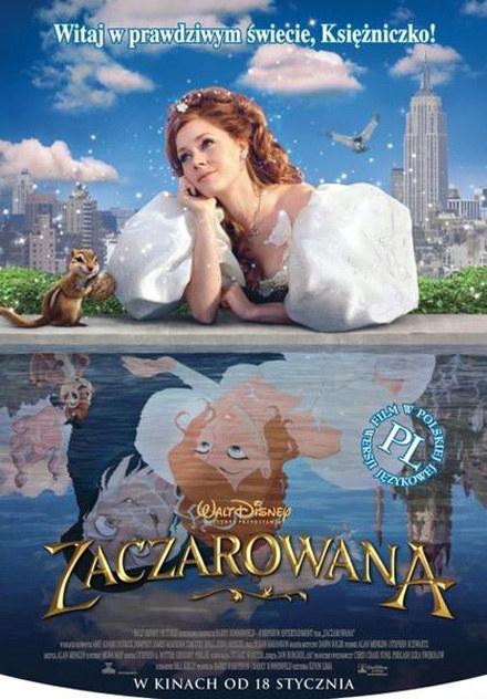 """Plakat filmu """"Zaczarowana"""" /"""