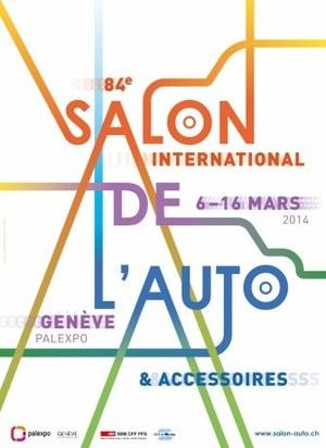 Plakat Geneva Motor Show 2014 /Newspress