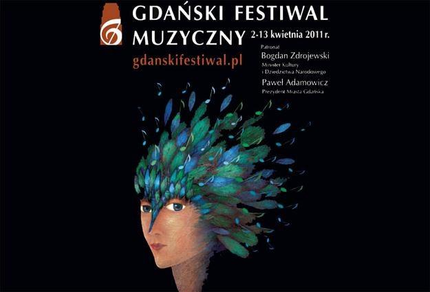 Plakat IV Gdańskiego Festiwalu Muzycznego /materiały prasowe