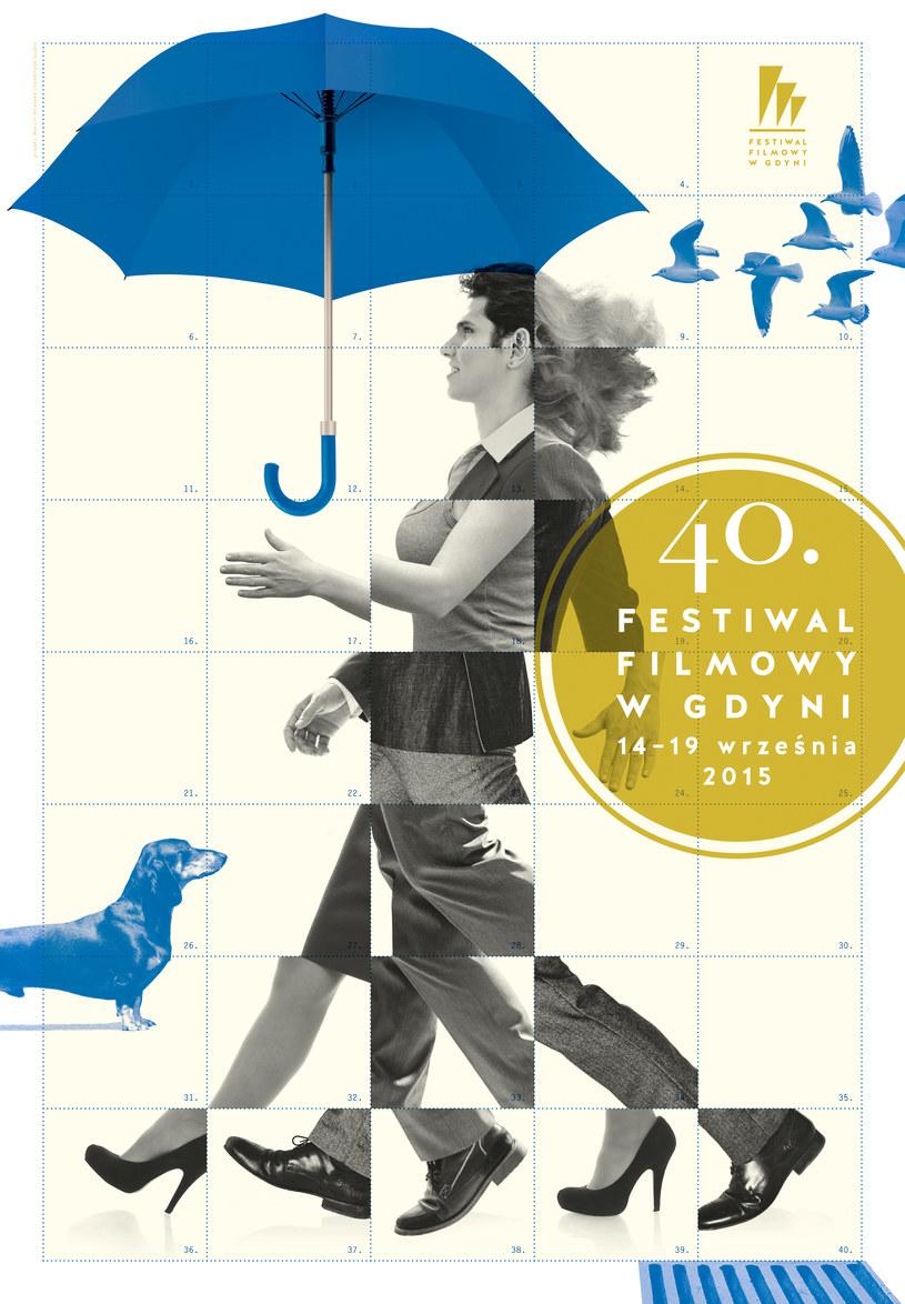 Plakat jubileuszowej edycji Festiwalu Filmowego w Gdyni /materiały prasowe