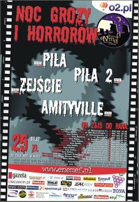 Plakat Nocy Grozy i Horrorów /