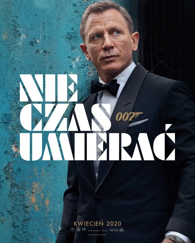 Plakat nowego filmu o przygodach jamesa Bonda /Forum Film Poland /Materiały prasowe