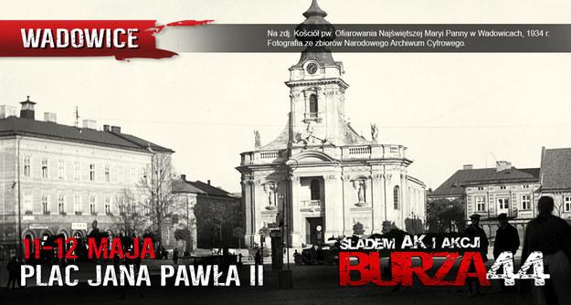 Plakat o wydarzeniu w Wadowicach (fot. materiały prasowe) /