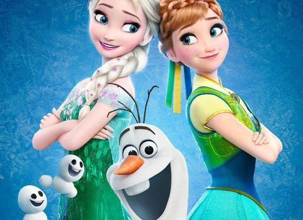 "Plakat promujący ""Frozen Fever"" /"