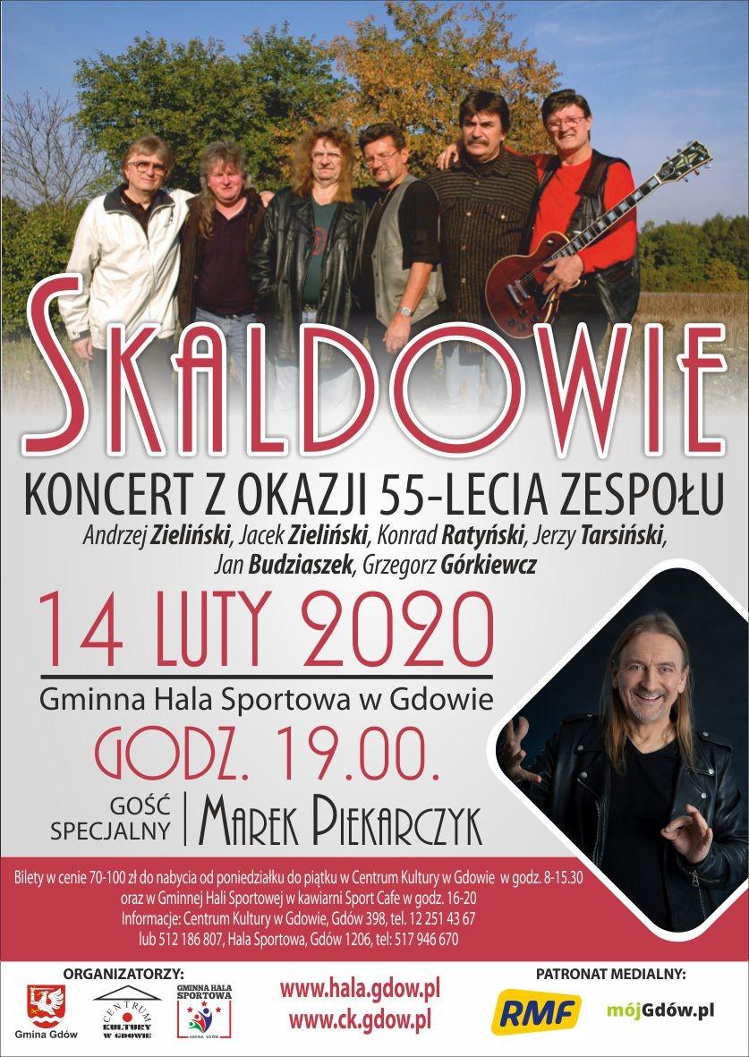 Plakat promujący koncert /Materiały prasowe