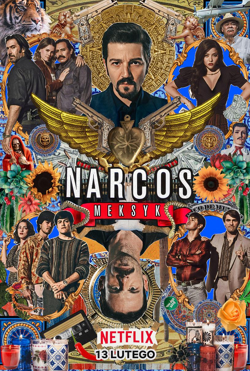 Plakat promujący sezon drugi, którego twórcą jest meksykański student Ernesto Muniz /Netflix /materiały prasowe