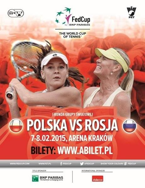 Plakat promujący wydarzenie Polska - Rosja w Krakowie. /INTERIA.PL
