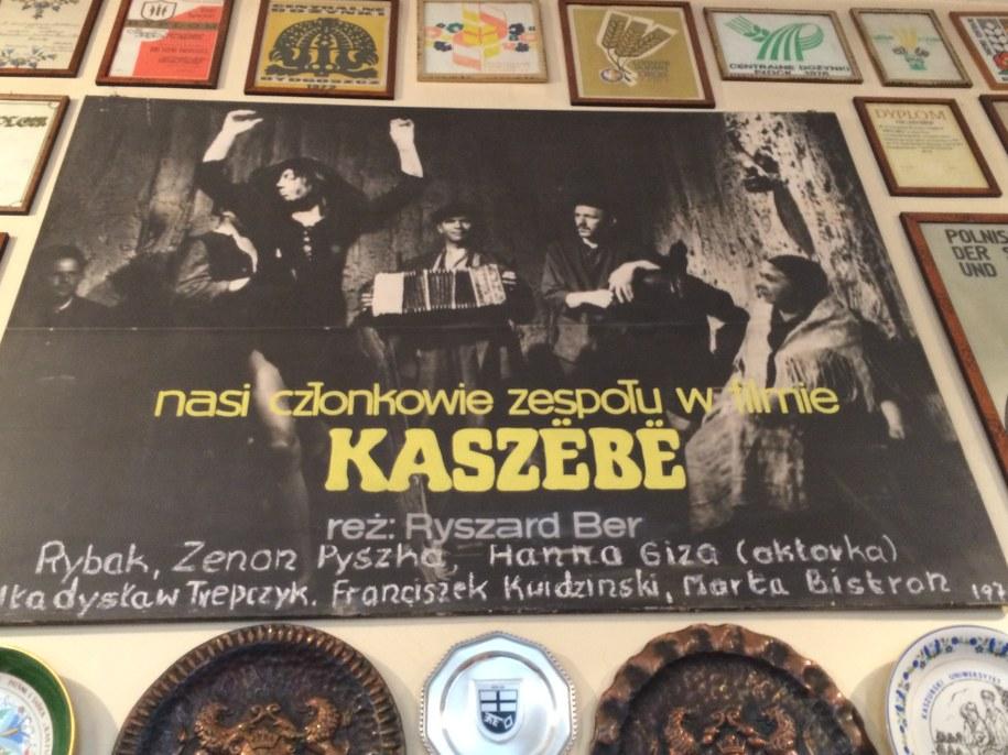 """Plakat promujący zespół """"Kaszuby"""" /Kuba Kaługa /RMF FM"""
