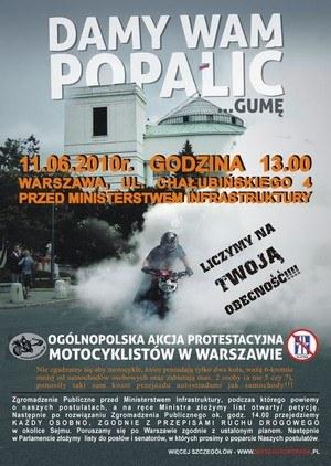 Plakat propagujący najazd na Warszawę /