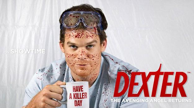 "Plakat siódmego sezonu ""Dextera"" /Show /materiały prasowe"