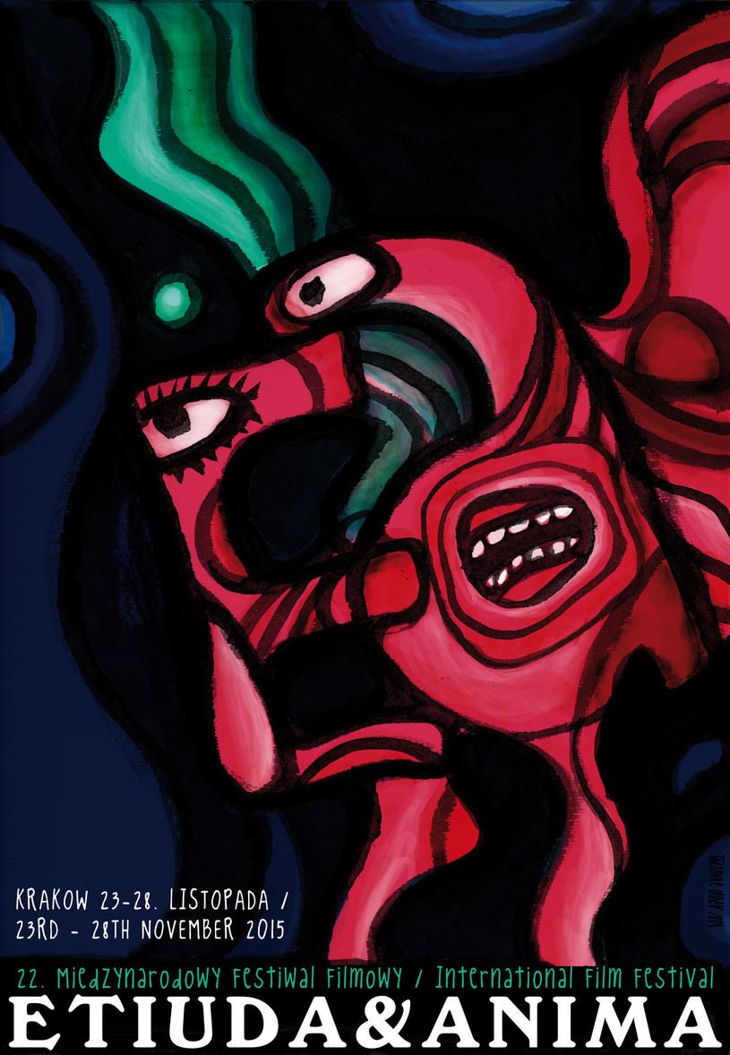 Plakat tegorocznej edycji festialu Etiuda&Anima /materiały prasowe
