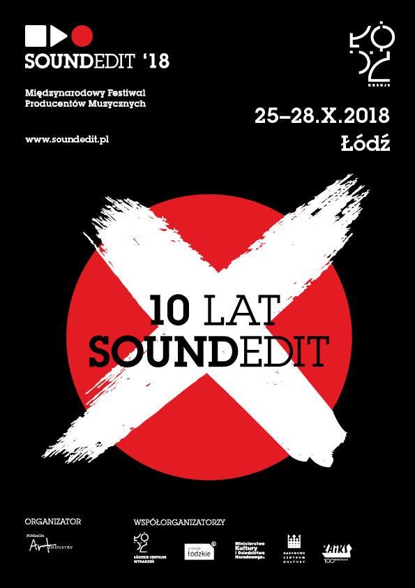 Plakat tegorocznej edycji Soundedit /materiały prasowe