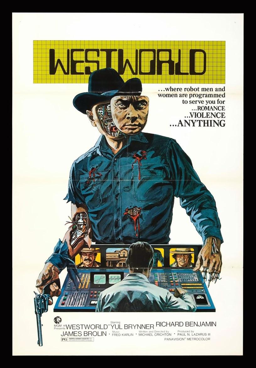 """Plakat """"Westworld"""" z 1973 roku. /materiały prasowe"""