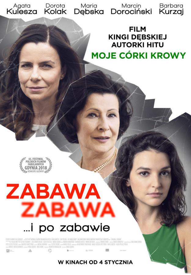 """Plakat """"Zabawa zabawa"""" /Kino Świat /Materiały prasowe"""