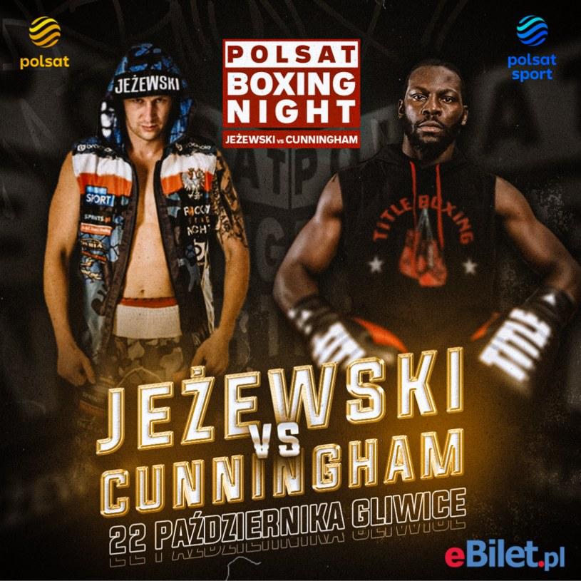 Plakat zapowiadający galę Polsat Boxing Night 11 /INTERIA.PL