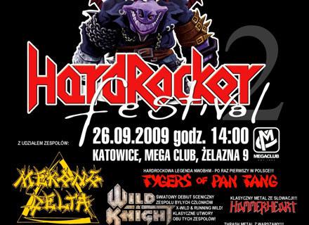 "Plakat zapowiadający ""Hard Rocker Festiwal 2"" /"