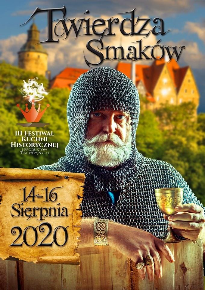 Plakat zapowiadający III edycję festiwalu /materiały prasowe /