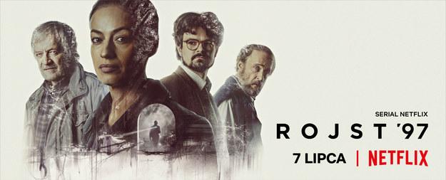 Plakat zapowiadający premierę serialu /Netflix /Materiały prasowe