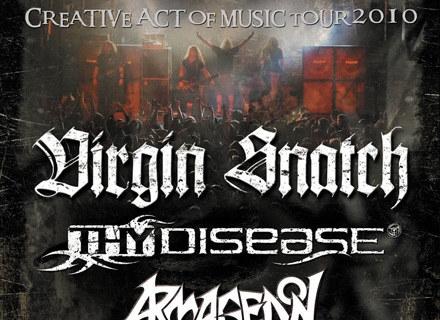 """Plakat zapowiadający trasę """"Creative Act Of Music Tour 2010"""" /"""