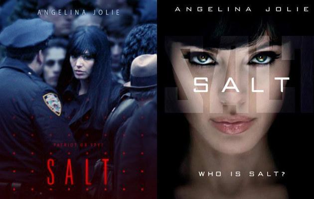 """Plakaty reklamujące film """"Salt""""  /materiały prasowe"""