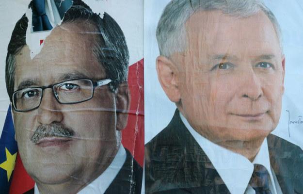 Plakaty wyborcze kandydatów na prezydenta / fot. Jacek Waszkiewicz / REPORTER /