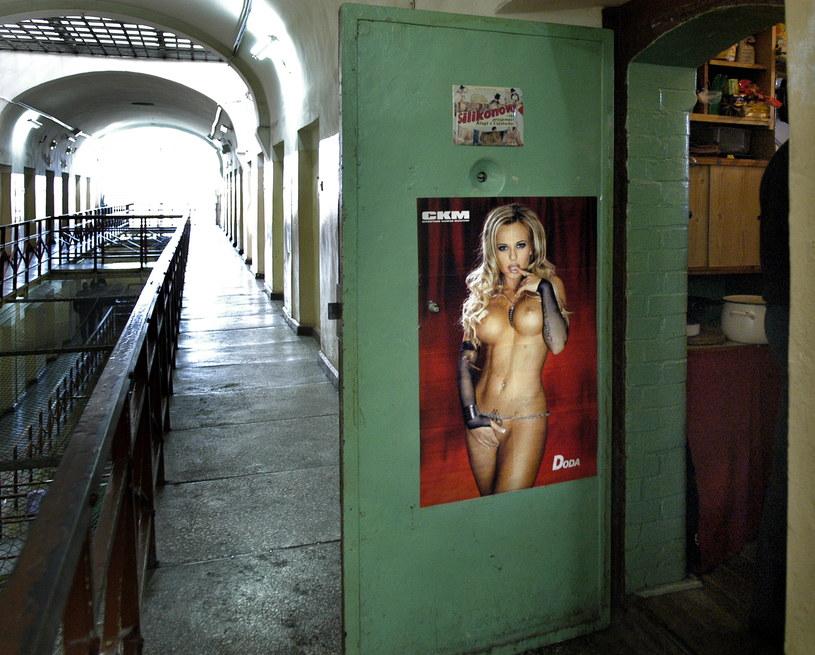 Plakaty z Dodą są ozdobą w więzieniach /Piotr Kochański /Agencja FORUM