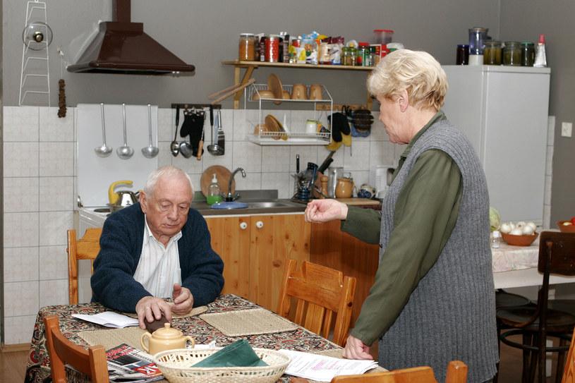 "Plan serialu ""M jak miłość, 2006 rok /Gałązka /AKPA"