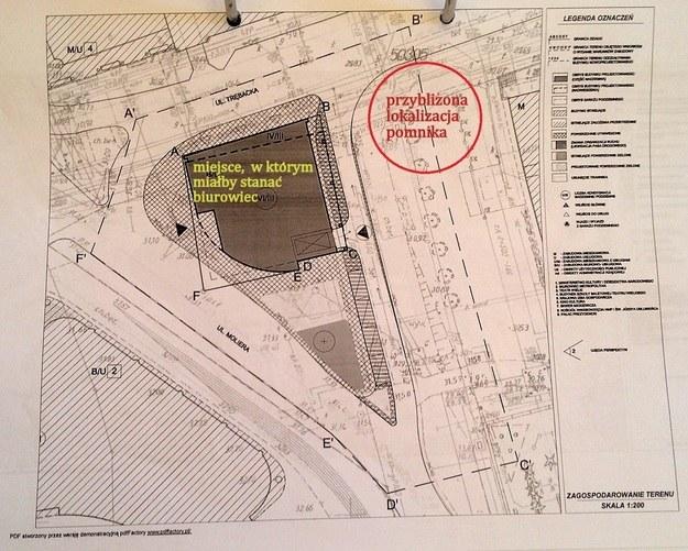 Plan zagospodarowania terenu /