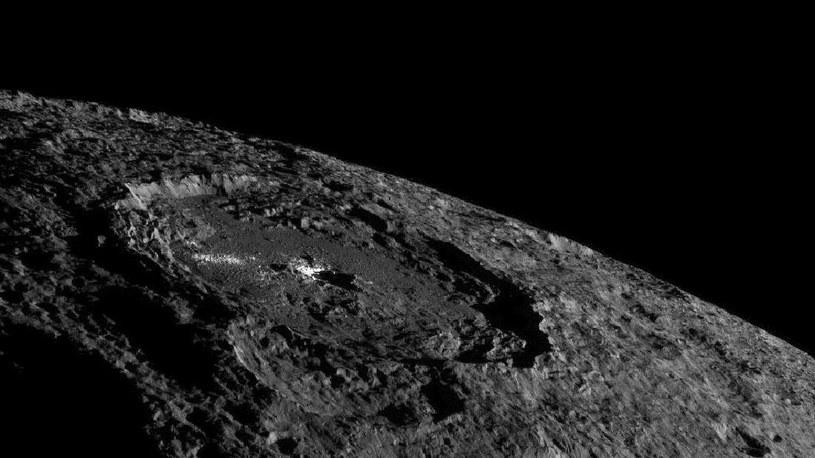Planeta karłowata Ceres jest bogata w związki organiczne /NASA