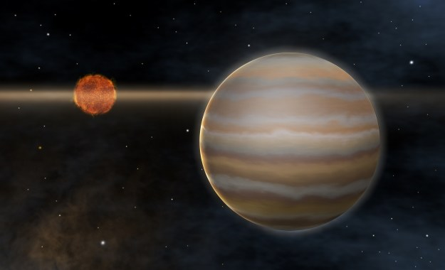 Planeta krążąca wokół brązowego karła /AFP