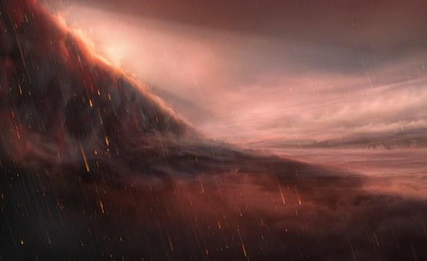 Planeta, na której wieczorami pada. Rozpalone żelazo...