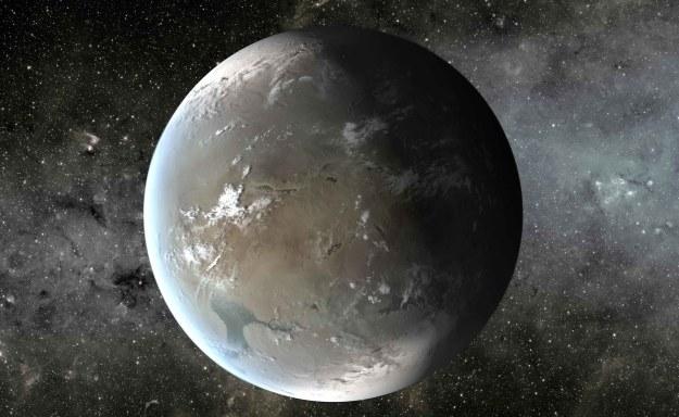 Planeta pozasłoneczna - wizualizacja /NASA